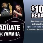 Graduate to Yamaha 2018